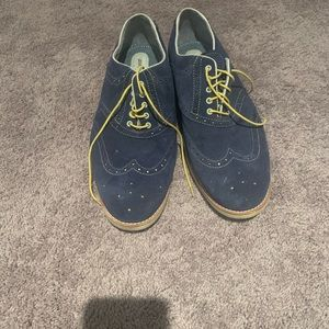Johnston & Murphy Shoes - Johnston & Murphy suede blue shoes.